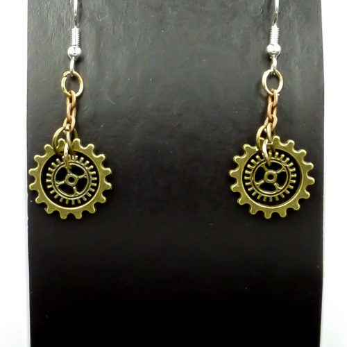 Steampunk Gems Gallery image for Steampunk Earrings