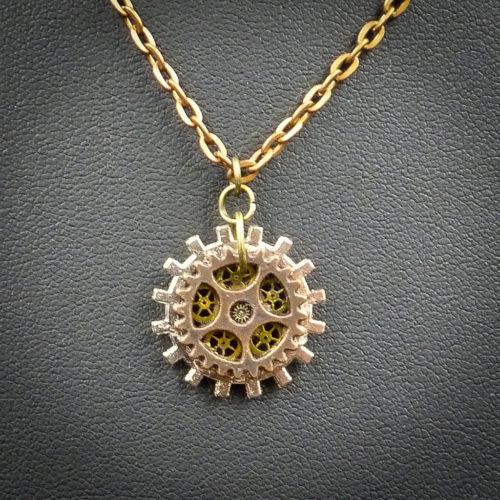 Steampunk Gems Different View of Steampunk Gems Necklace