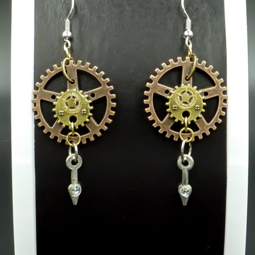 Steampunk Gems Gallery image for Steampunk Earrings
