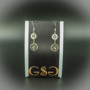 Steampunk Earrings by Gwendolyne's Steampunk Gems