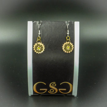 Steampunk Earrings by Gwendolyne's Steampunk Gems