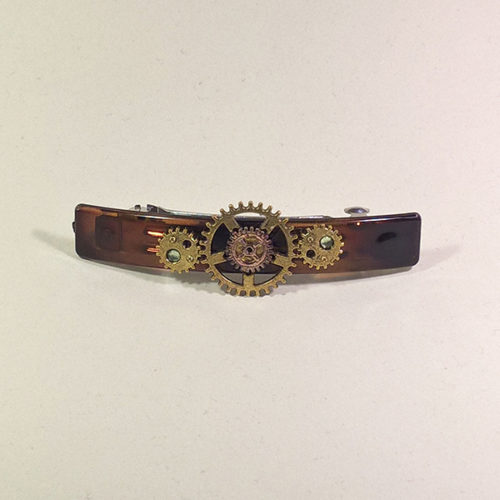 Steampunk Hairclips by Gwendolyne's Steampunk Gems