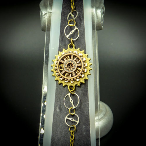 Steampunk Bracelets from the jewellery collection by Gwendolyne's Steampunk Gems