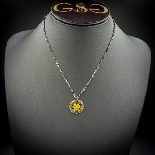 Godgifu -Gwendolyne's Steampunk Gems necklace