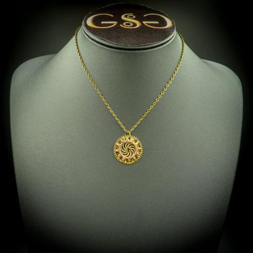 Caelia necklace - Gwendolyne's Steampunk Gems