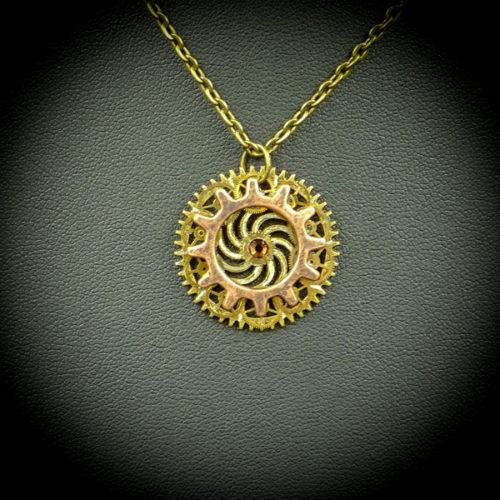 Caelia close-up - Gwendolyne's Steampunk Gems
