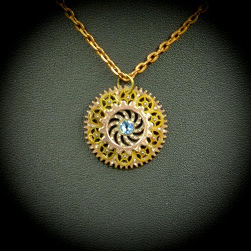 Stella Light Sapphire - Gwendolyne's Steampunk Gems
