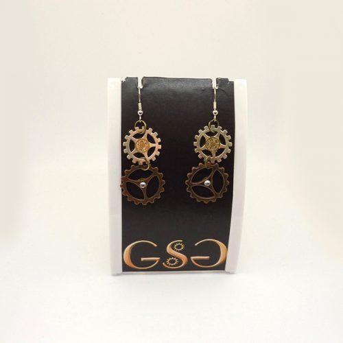 GSG Steampunk Earrings