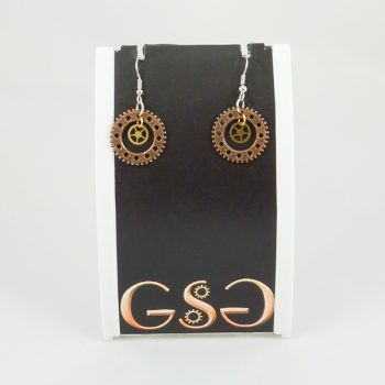 GSG Steampunk Earrings