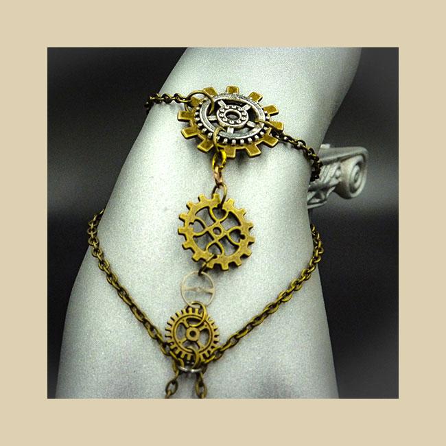 GSG Steampunk Bracelets
