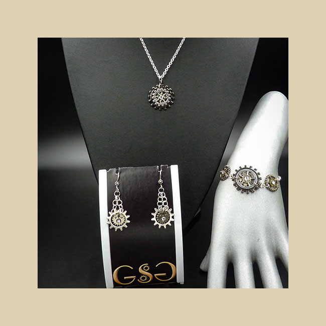 GSG Special Sets of Steampunk Jewllery