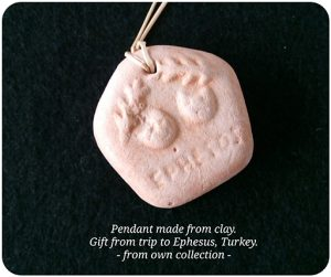 GSG's Clay Jewellery from Ephesus, Turkey