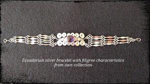 Ecuadorian Silver Bracelet