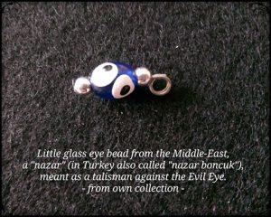 'Nazar' - Little Glass Eye Bead