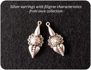 FiligreeSilver Earrings
