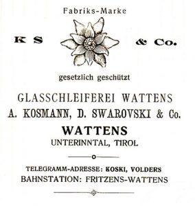 Swarovski 1899 Edelweis