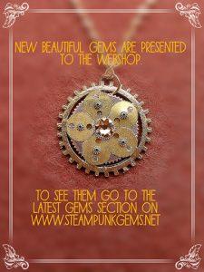 Swarovski Steampunk Gems