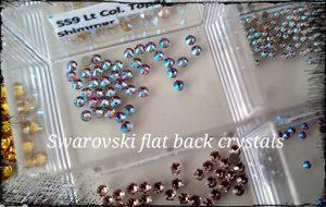 Swarovski Crystals in Steampunk Gems Jewellery