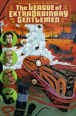 The League of Extraordinairy Gentlemen by by Alan Moore and Kevin O'Neil